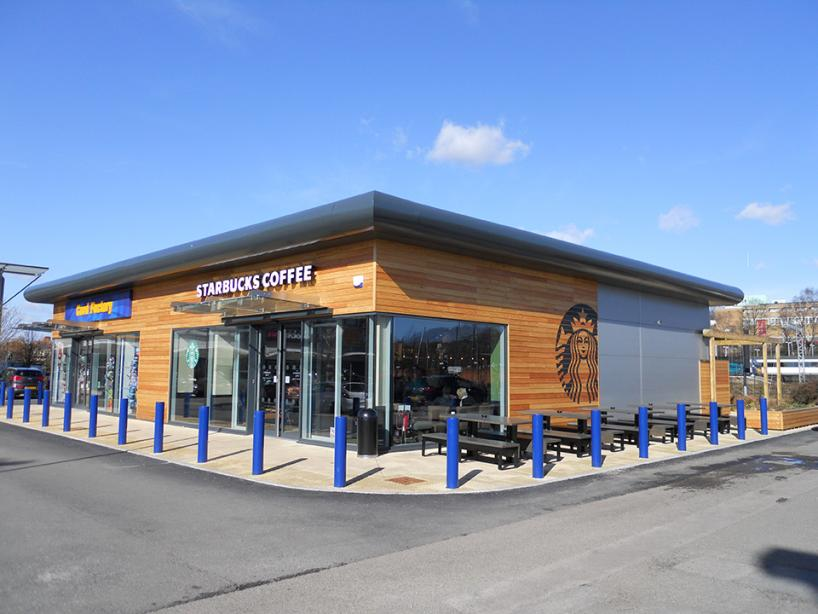 Retail - (New Build) - New detached retail units developed within an established Retail Park